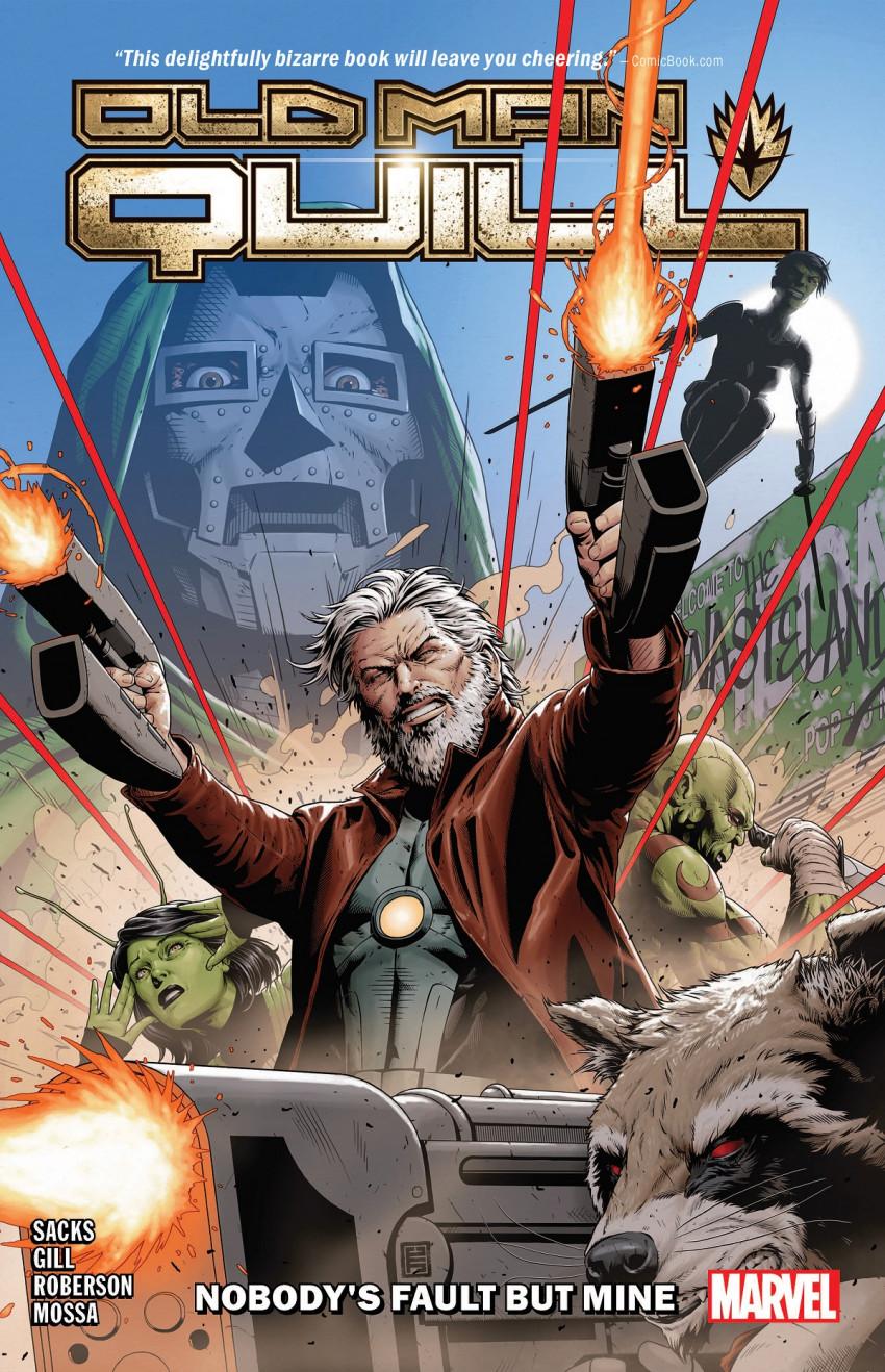 Couverture de Old Man Quill (Marvel comics - 2019) -INT01- Nobody's Fault But Mine
