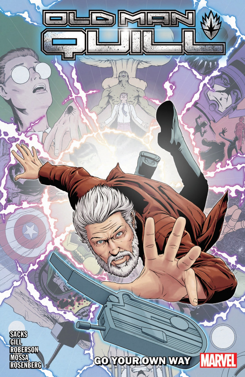 Couverture de Old Man Quill (Marvel comics - 2019) -INT02- Go Your Own Way