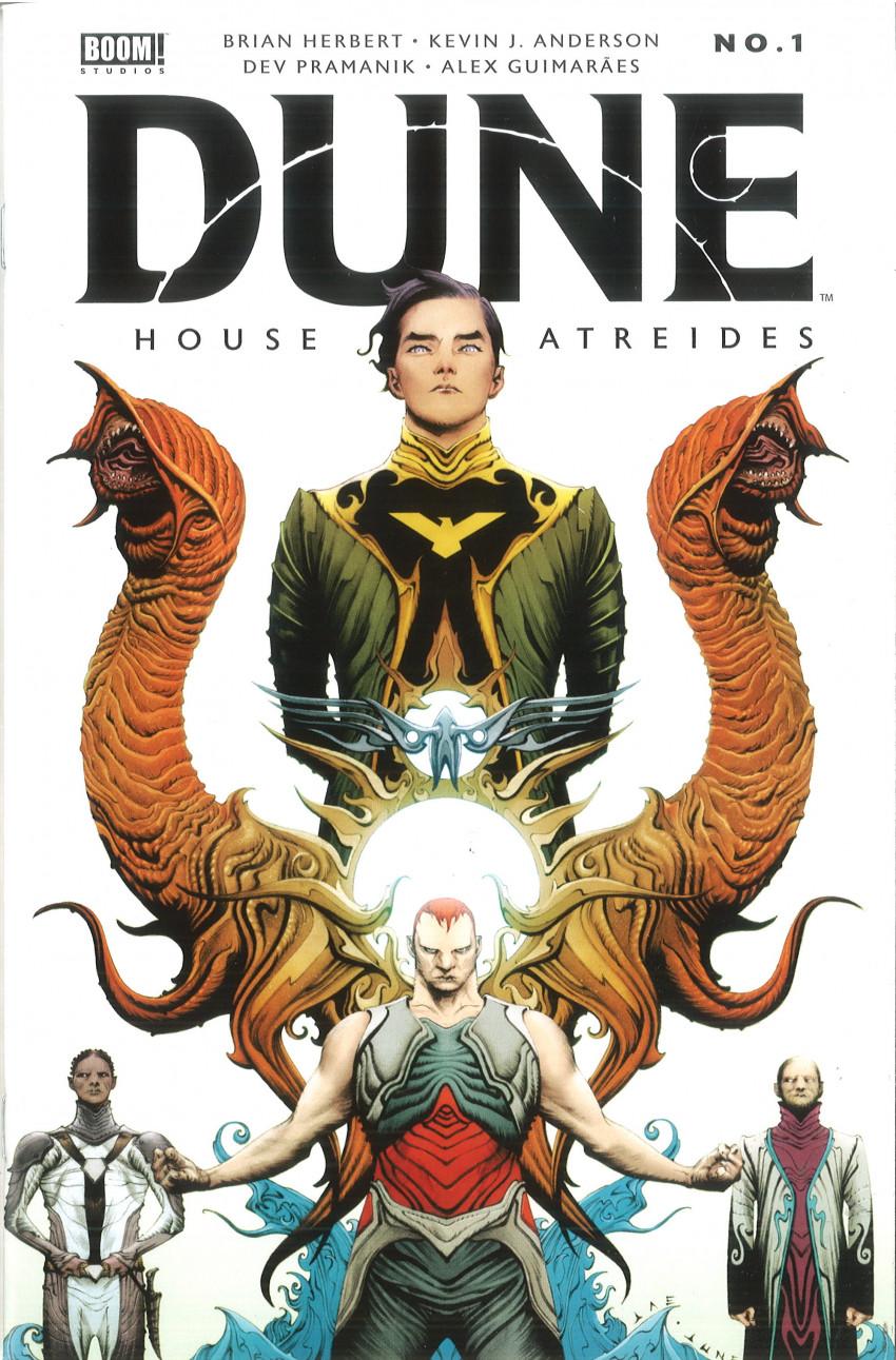 Couverture de Dune: House Atreides -1- Issue #1