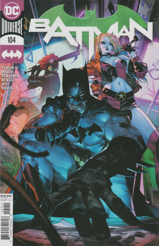 Couverture de Batman (DC Comics - 2016) -104- Ghost Stories, Part Three