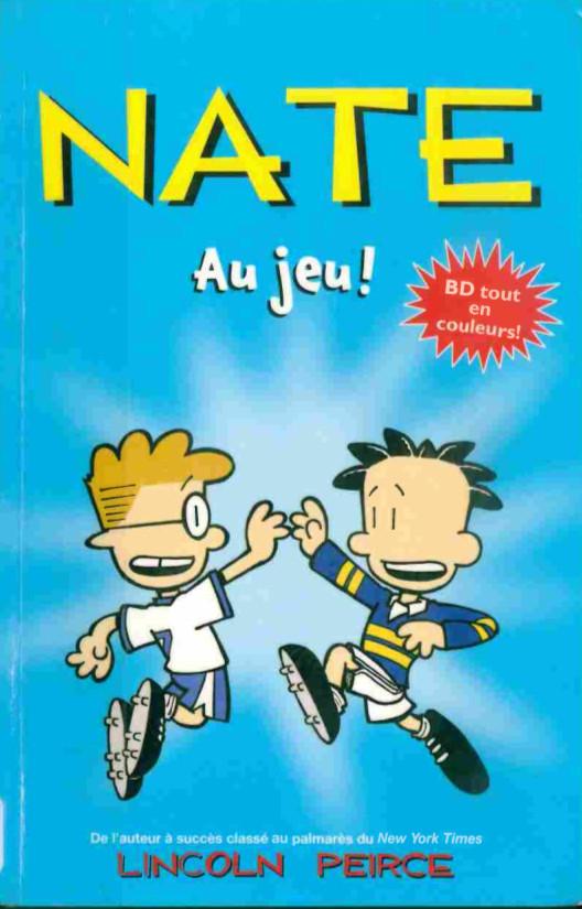 Couverture de Nate - Nate au jeu!
