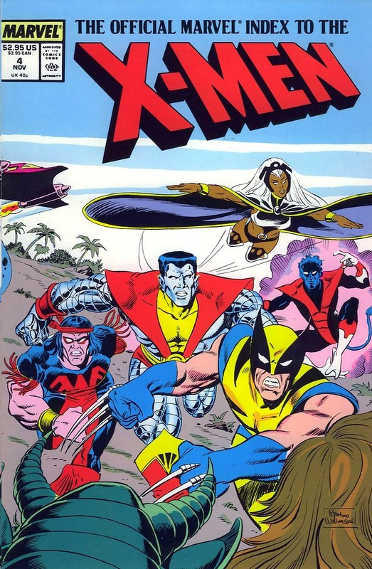 Couverture de The official Marvel index to the X-Men (1987) -4- Issue # 4