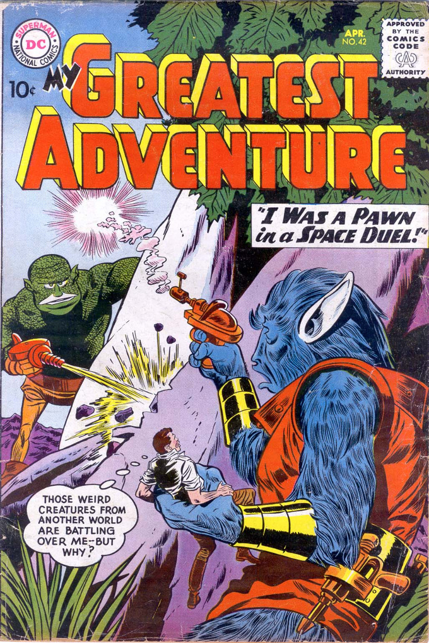 Couverture de My greatest adventure Vol.1 (DC comics - 1955) -42- I Was a Pawn in a Space Duel!