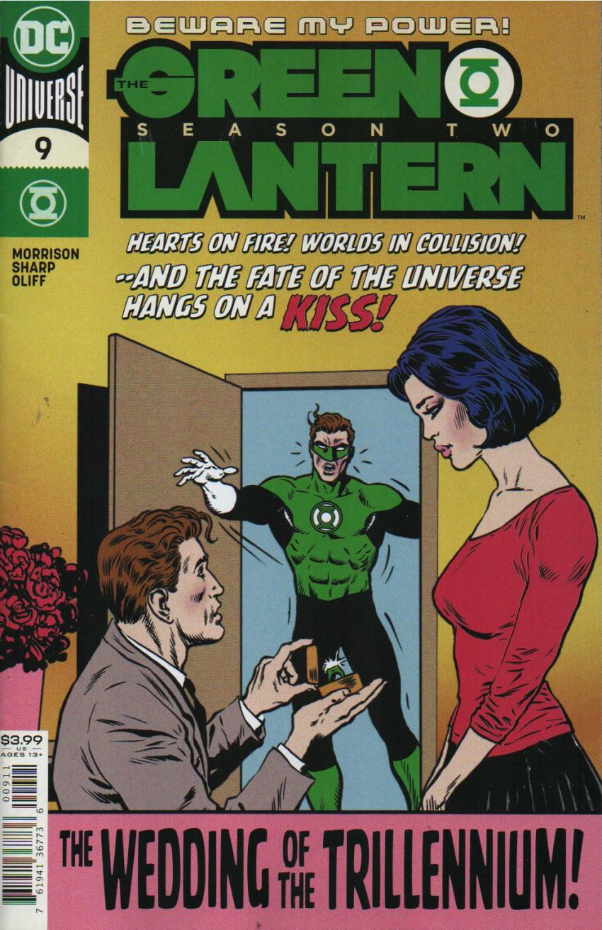 Couverture de Green Lantern - Season Two (The) (2019) -9- The Wedding of the Trillennium !