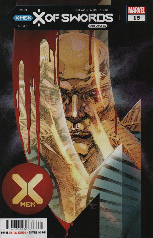 Couverture de X-Men Vol.5 (Marvel comics - 2019) -15- X of Swords: Chapter 20