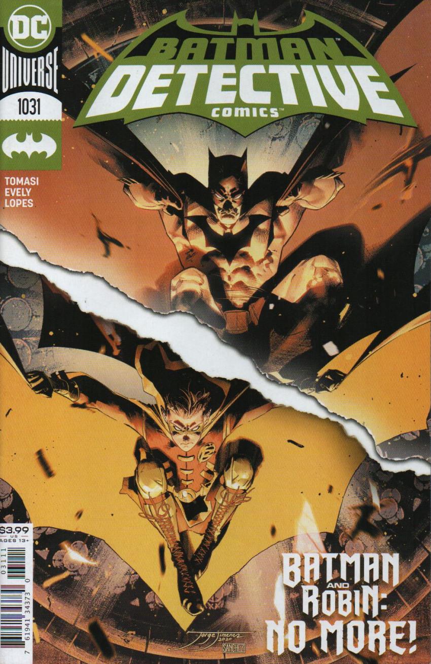 Couverture de Detective Comics (1937), Période Rebirth (2016) -1031- Smash the Mirror