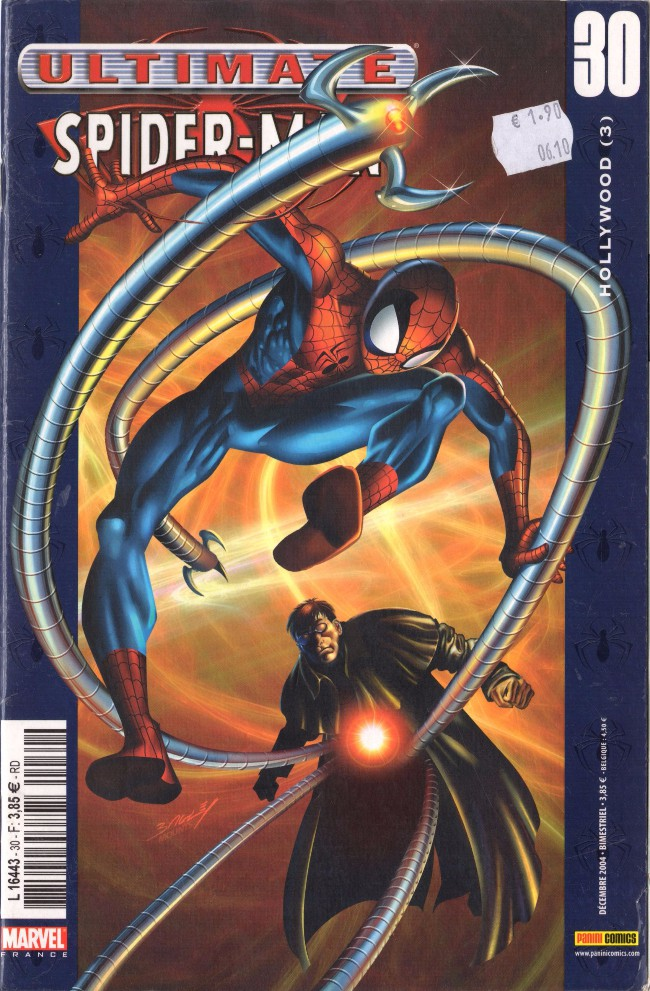 Couverture de Ultimate Spider-Man (1re série) -30- Hollywood (3)
