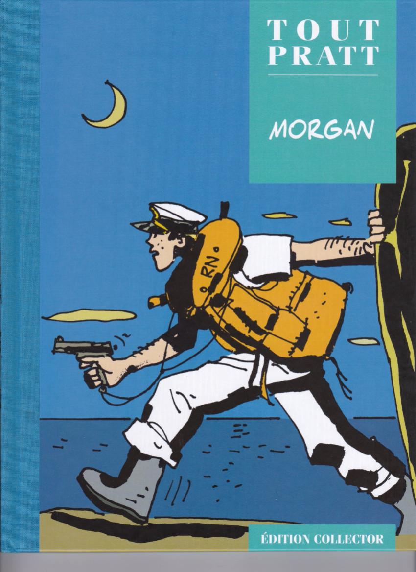 Couverture de Tout Pratt (collection Altaya) -48- Morgan