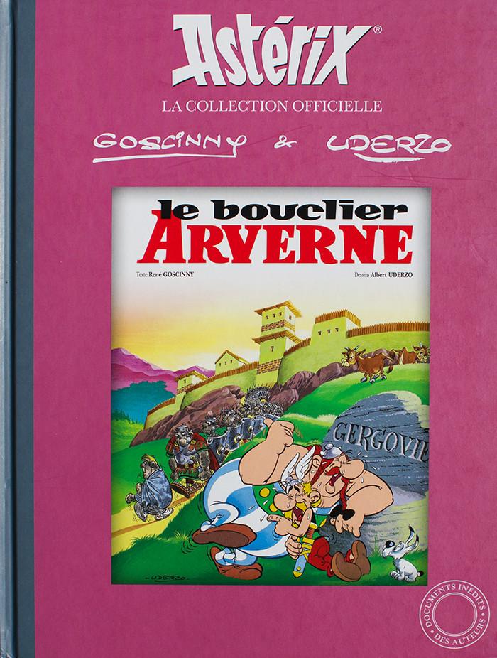 Couverture de Astérix (Hachette collections - La collection officielle) -11- Le bouclier Arverne