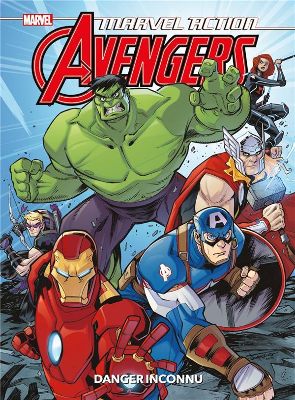 Couverture de Marvel Action : Avengers -1- Danger inconnu