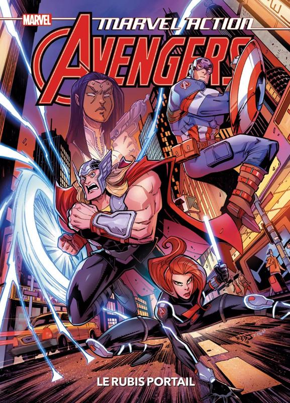 Couverture de Marvel Action : Avengers -2- Le rubis portail