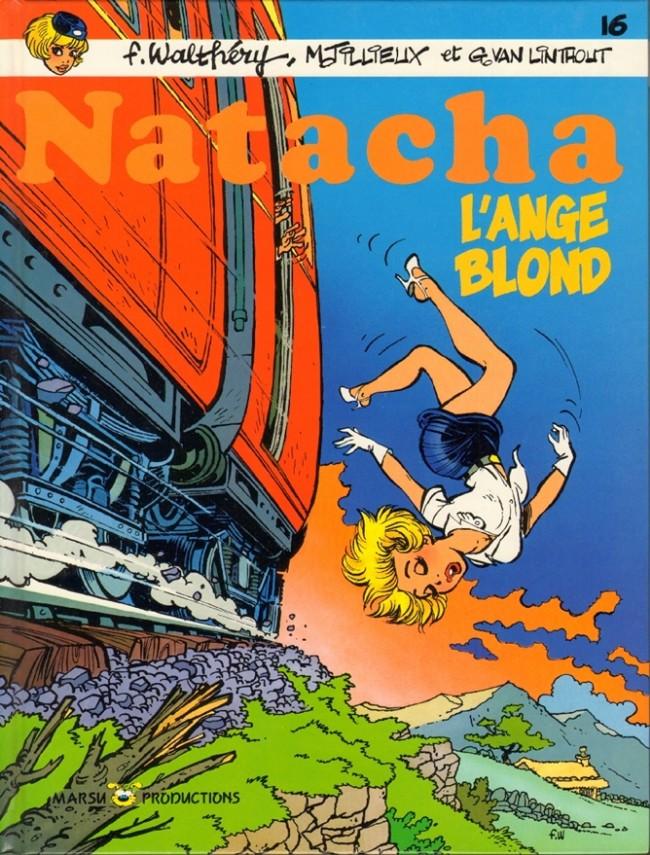 Couverture de Natacha -16- L'ange blond
