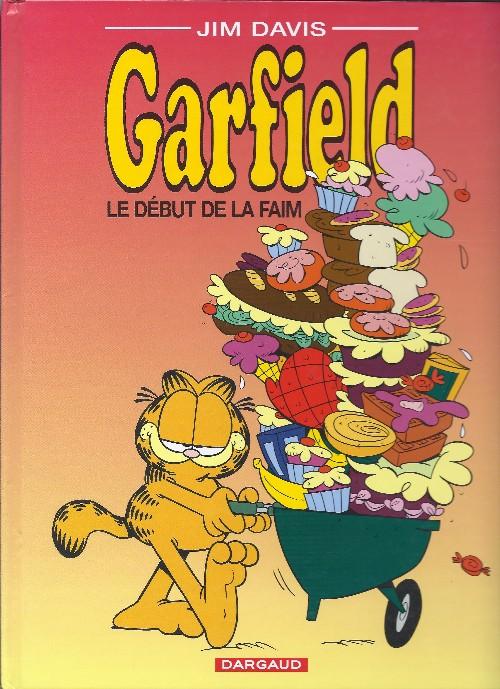 Couverture de Garfield -32- Le début de la faim