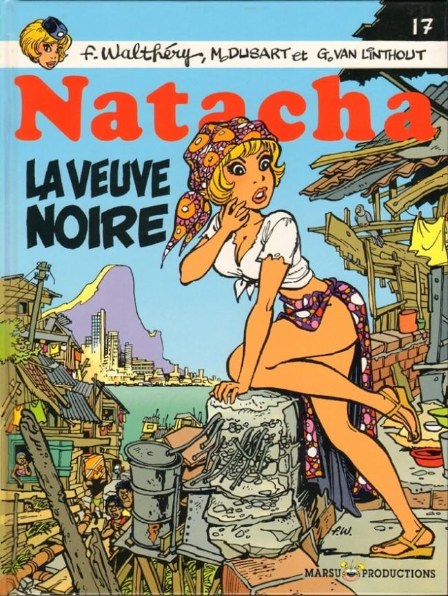 Couverture de Natacha -17- La veuve noire