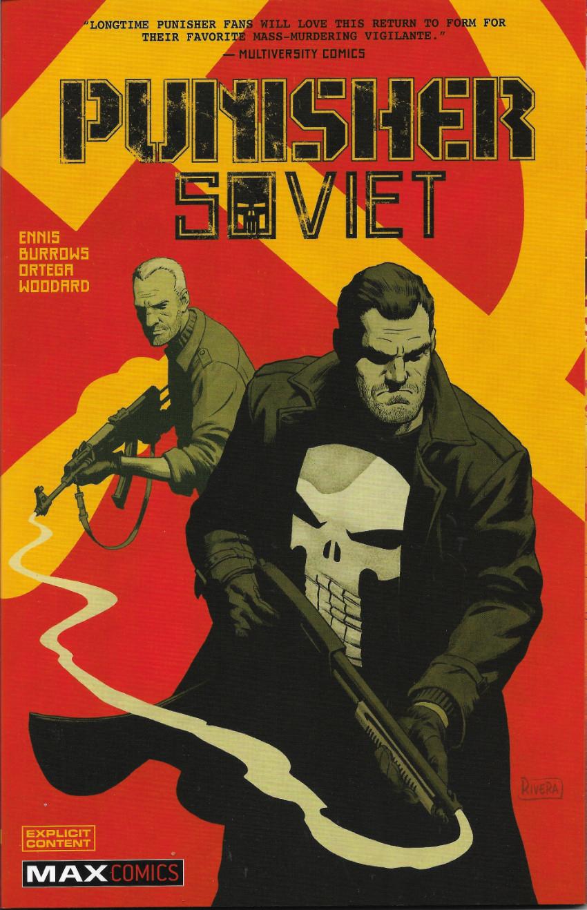 Couverture de Punisher: Soviet (2019) -INT- Punisher: Soviet