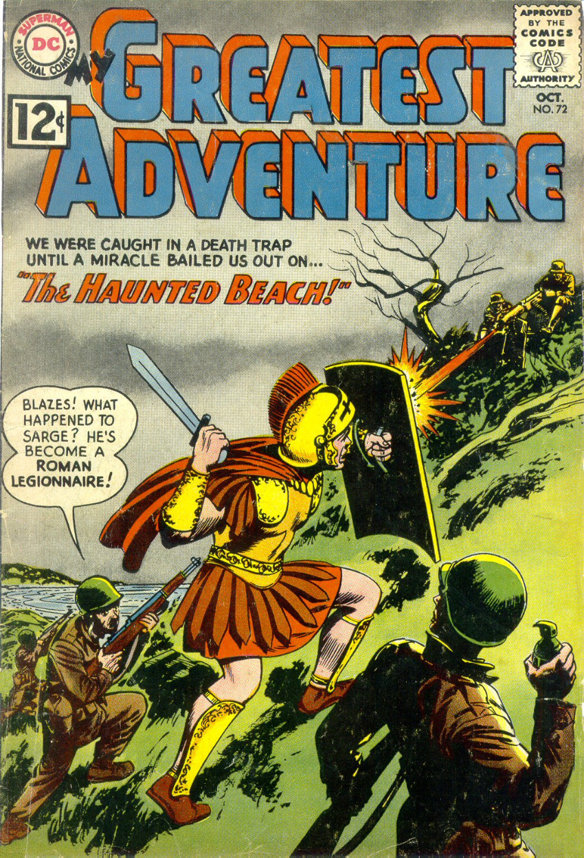 Couverture de My greatest adventure Vol.1 (DC comics - 1955) -72- The Haunted Beach!