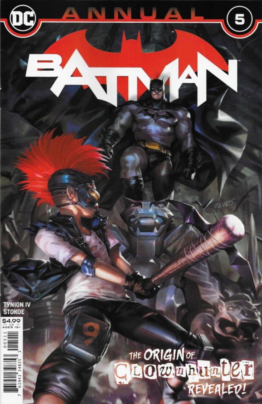 Couverture de Batman (DC Comics - 2016) -AN05- The Origin of Clownhunter