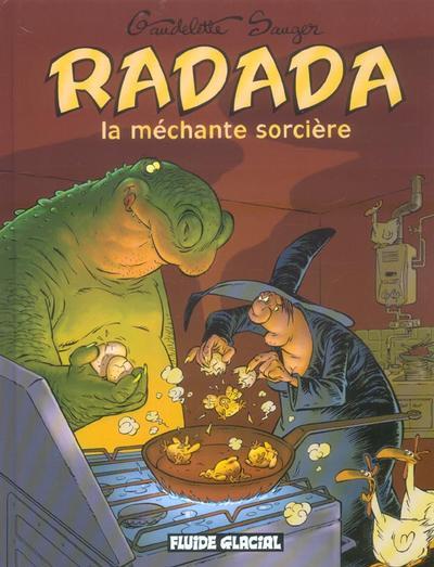 Couverture de Radada (La méchante sorcière) -INT- Radada la méchante sorcière