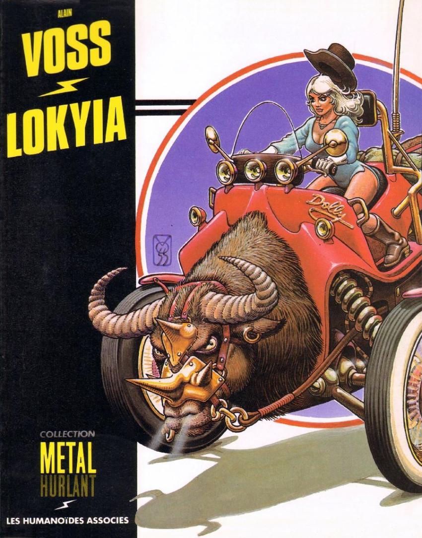 Couverture de Lokyia