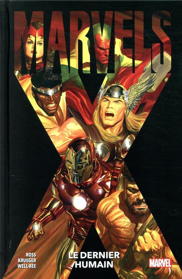 Couverture de Marvels X : Le Dernier Humain - Marvels X: Le Dernier Humain