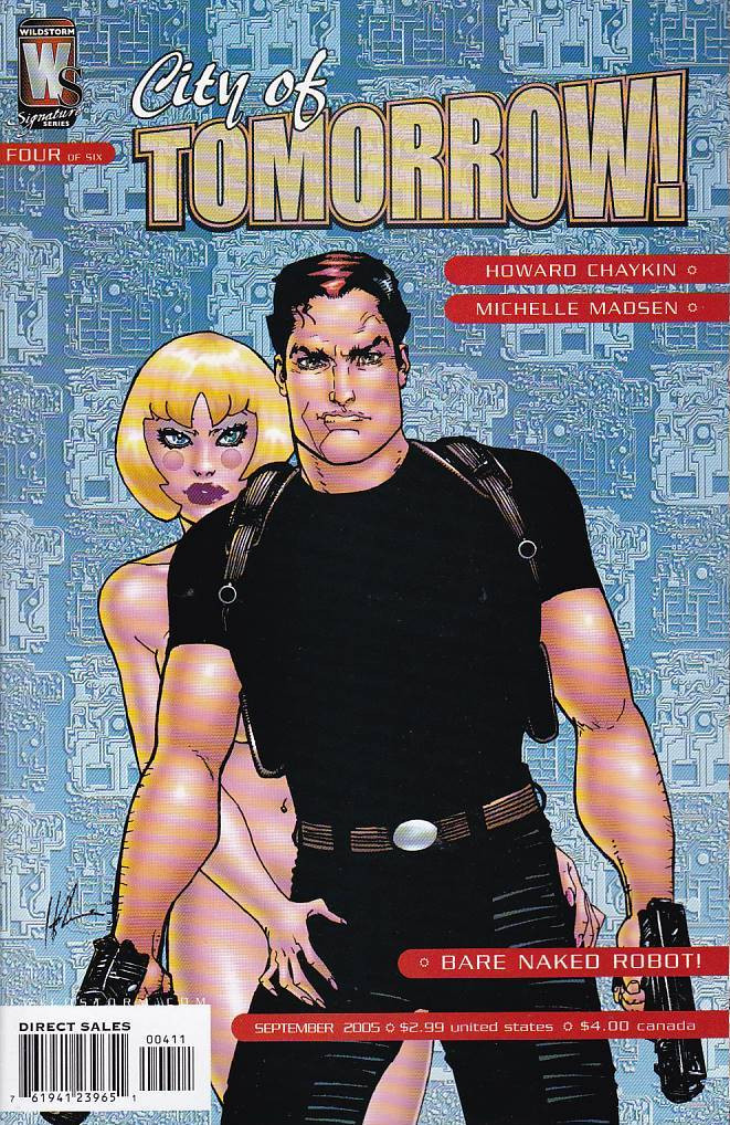 Couverture de City of tomorrow (wildstorm - 2005) -4- volume 4