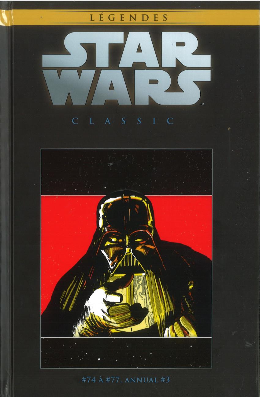 Couverture de Star Wars - Légendes - La Collection (Hachette) -129129- Star Wars Classic - #74 à #77 et Annual #3