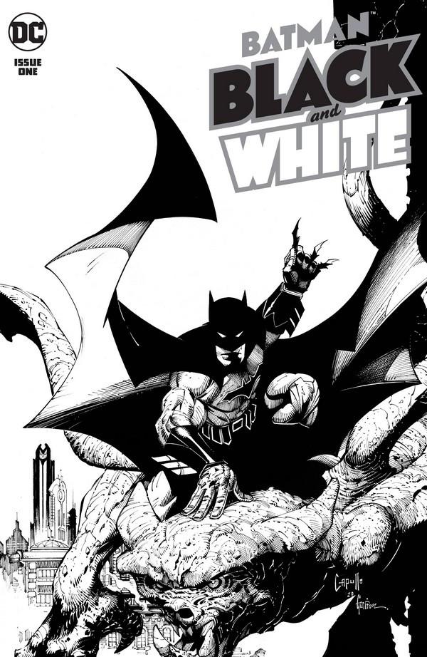 Couverture de Batman Black and White (DC Comics - 2021) -1- Issue # 1