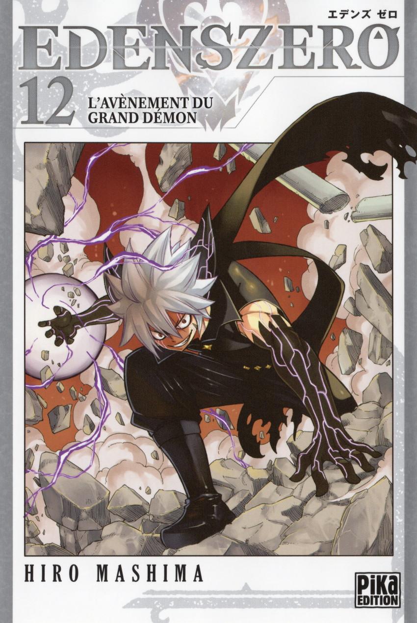 Couverture de Edens Zero -12- L'avènement du Grand Démon
