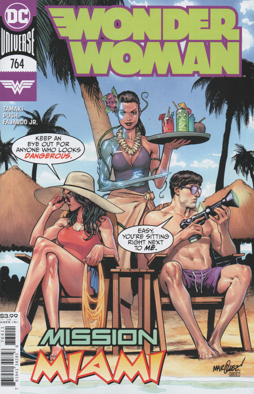 Couverture de Wonder Woman Vol.1 (DC Comics - 1942) -764- Miami or Bust!