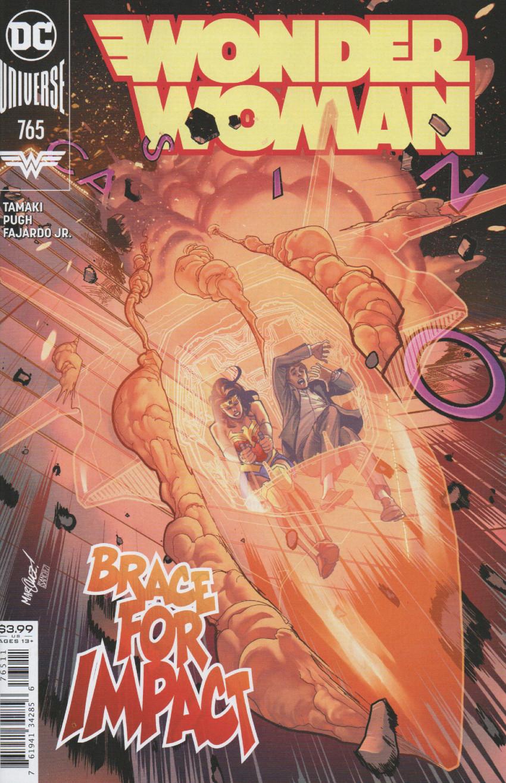 Couverture de Wonder Woman Vol.1 (DC Comics - 1942) -765- What happens is Zandia!