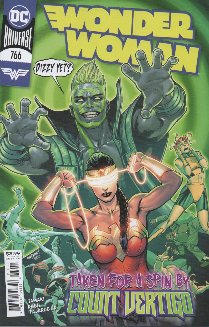 Couverture de Wonder Woman Vol.1 (DC Comics - 1942) -766- Max Lord's revenge - Part 1