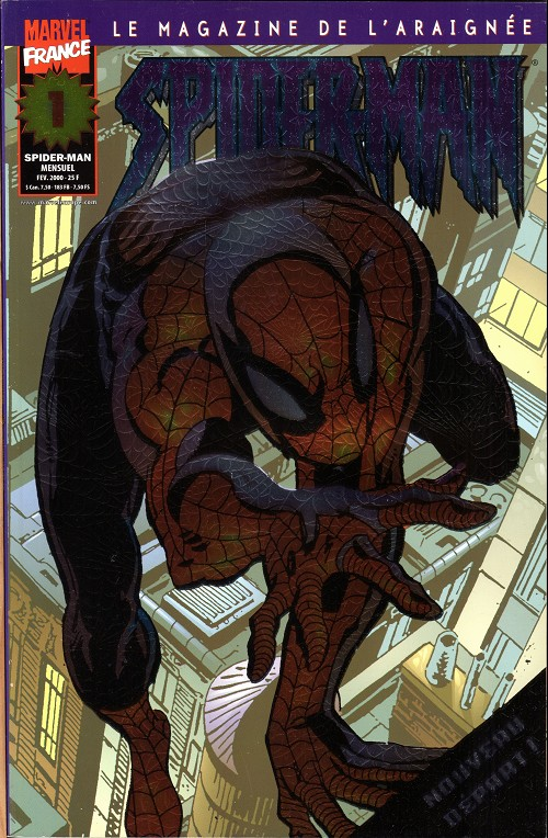 Couverture de Spider-Man (Marvel France 2e série - 2000) -1- Renaissance