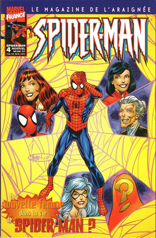 Couverture de Spider-Man (Marvel France 2e série - 2000) -4- S'il n'en reste qu'une...