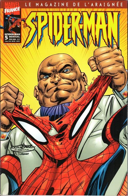 Couverture de Spider-Man (Marvel France 2e série - 2000) -5- L'habit ne fait pas le moine