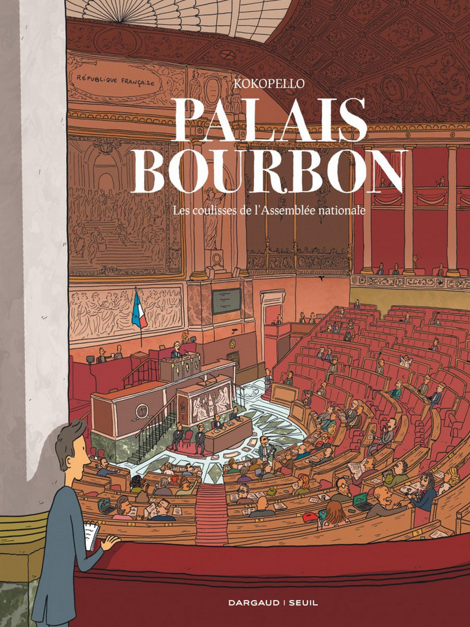 Couverture de Palais-Bourbon, les coulisses de l'Assemblée nationale