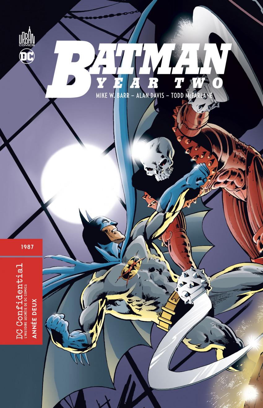 Couverture de DC Confidential (Urban comics) -6- Batman : Année Deux