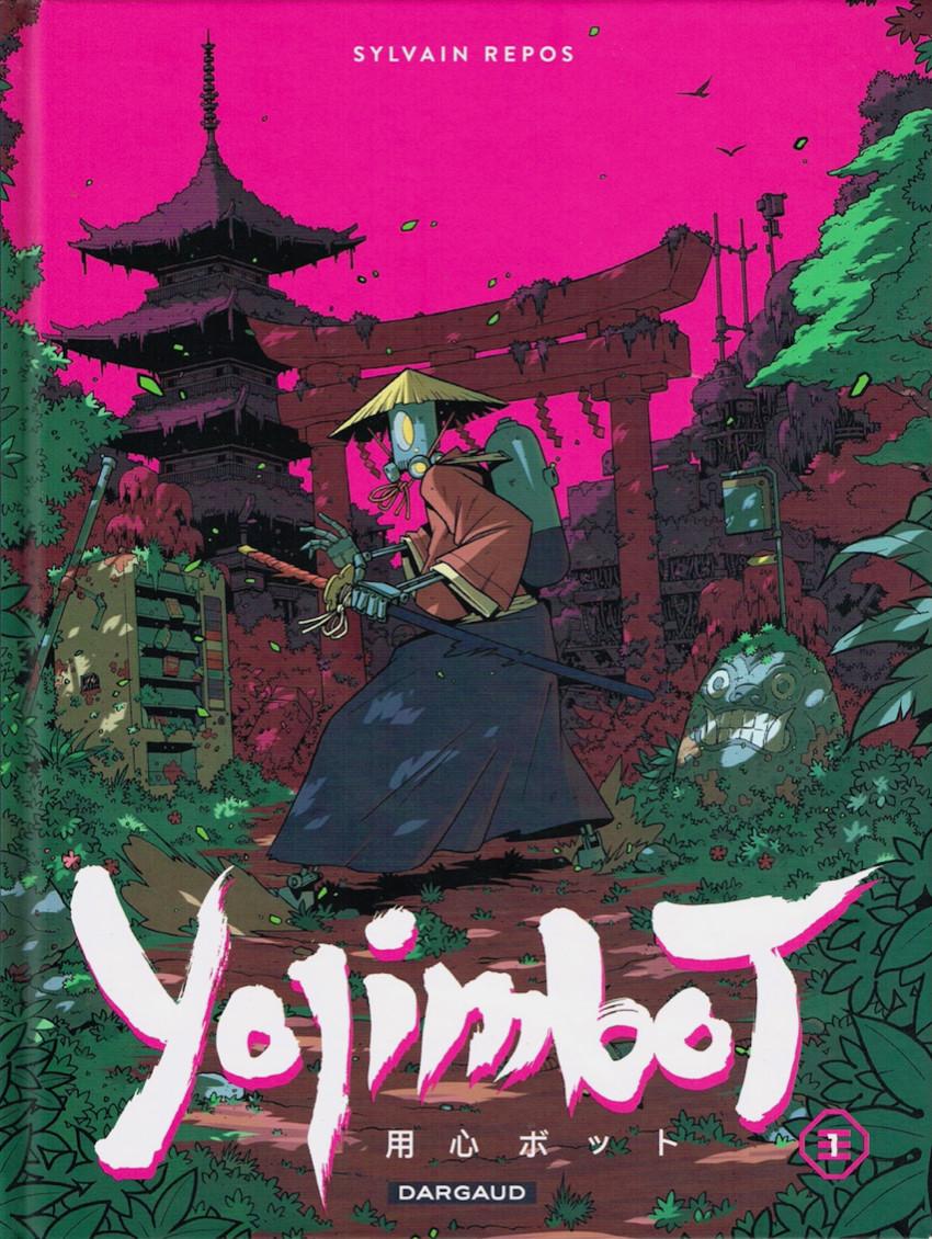Couverture de Yojimbot -1- Silence Métallique