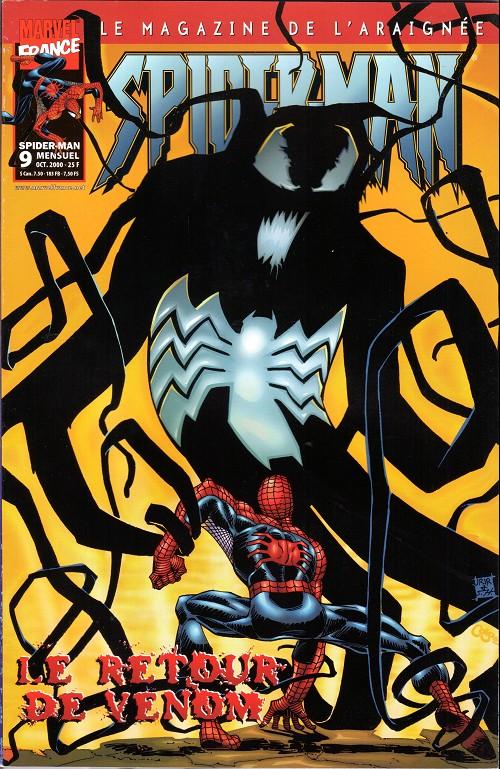 Couverture de Spider-Man (Marvel France 2e série - 2000) -9- Le retour de venom