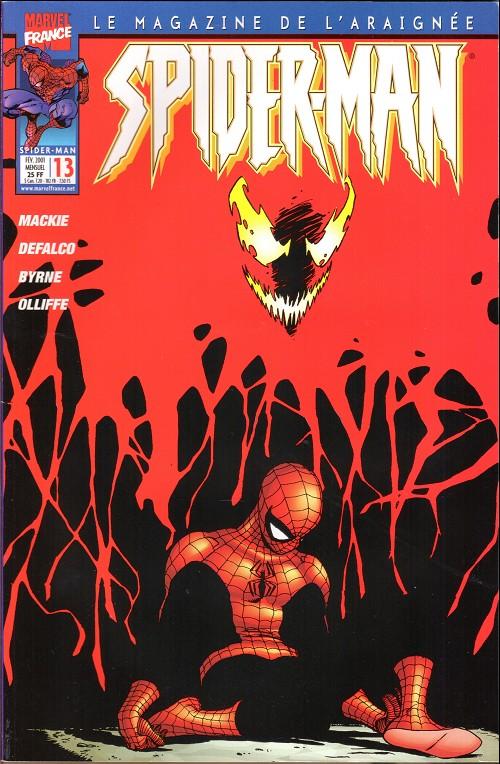 Couverture de Spider-Man (Marvel France 2e série - 2000) -13- Le retour de carnage