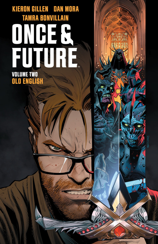 Couverture de Once & Future (Boom! Studios - 2019) -INT02- Old English