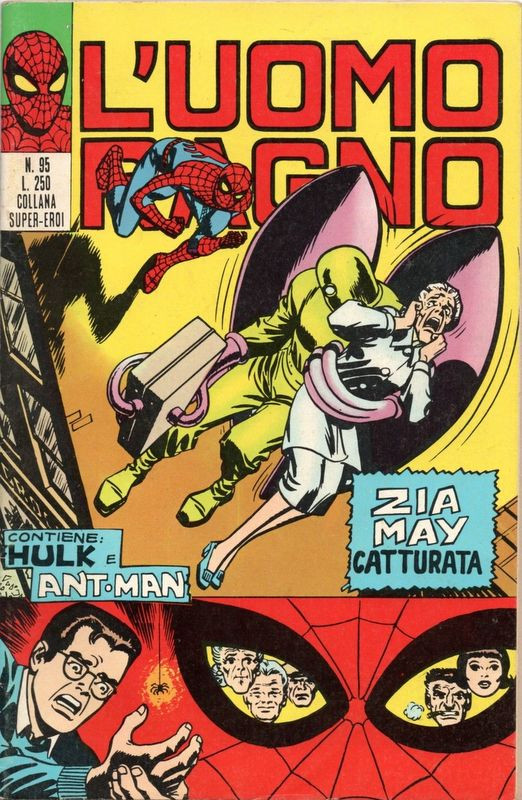 Couverture de L'uomo Ragno (Editoriale Corno) V1 -95- Zia May catturata