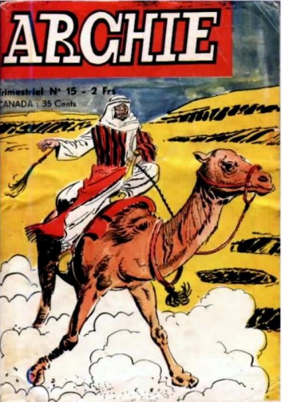 Couverture de Archie (Jeunesse et Vacances) -15- Les pirates d'Abdul Kra