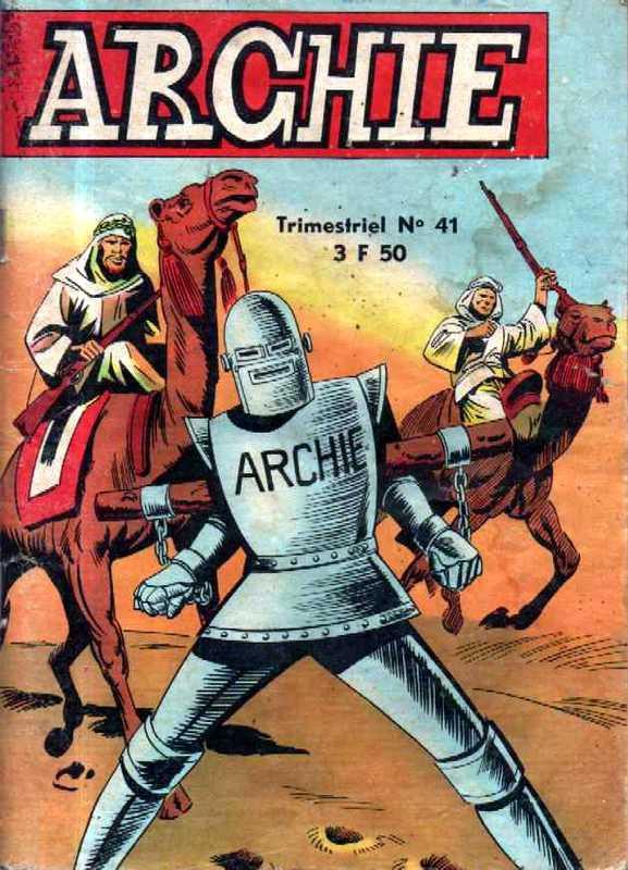 Couverture de Archie (Jeunesse et Vacances) -41- Le scorpion géant