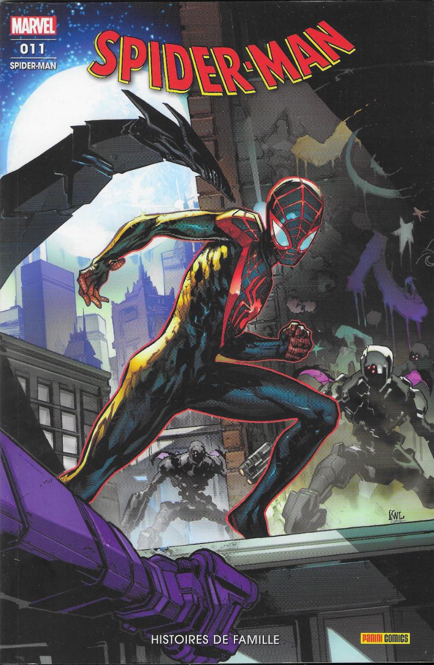 Couverture de Spider-Man (Marvel France 8e série - 2020)  -11- Histoires de famille