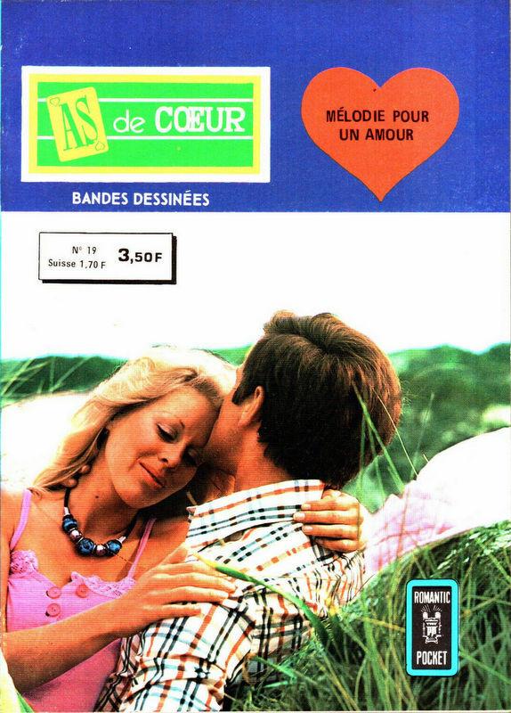 Couverture de As de cœur 2ème série (Aredit) -19- Mélodie pour un amour