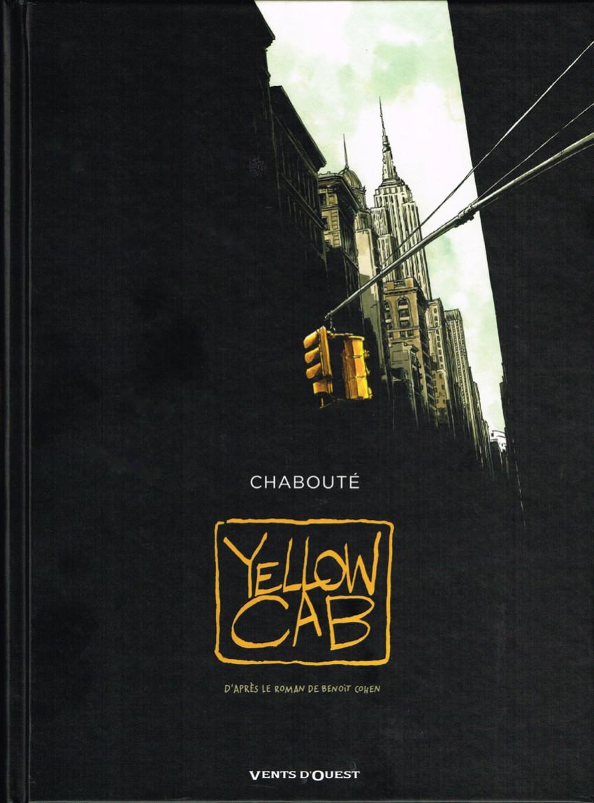 Couverture de Yellow cab