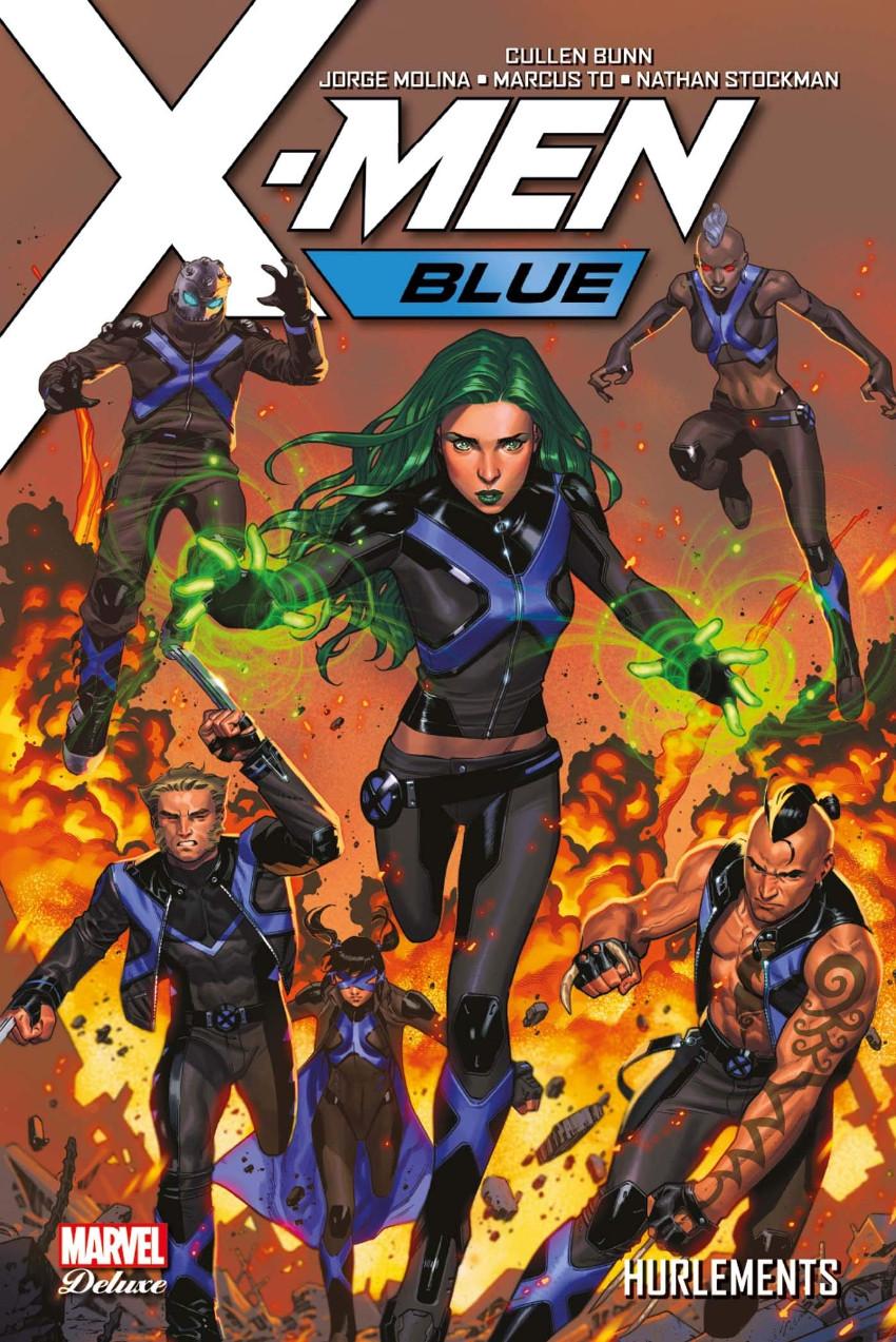 Couverture de X-Men: Blue -3- Hurlements