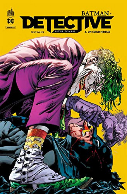 Couverture de Batman : Detective -4- Un cœur hideux