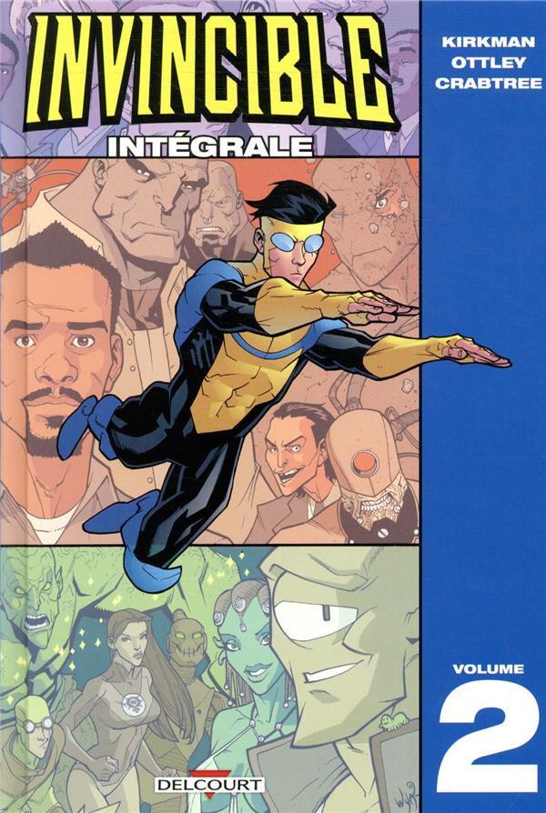 Couverture de Invincible -INT02- Intégrale Tome 2