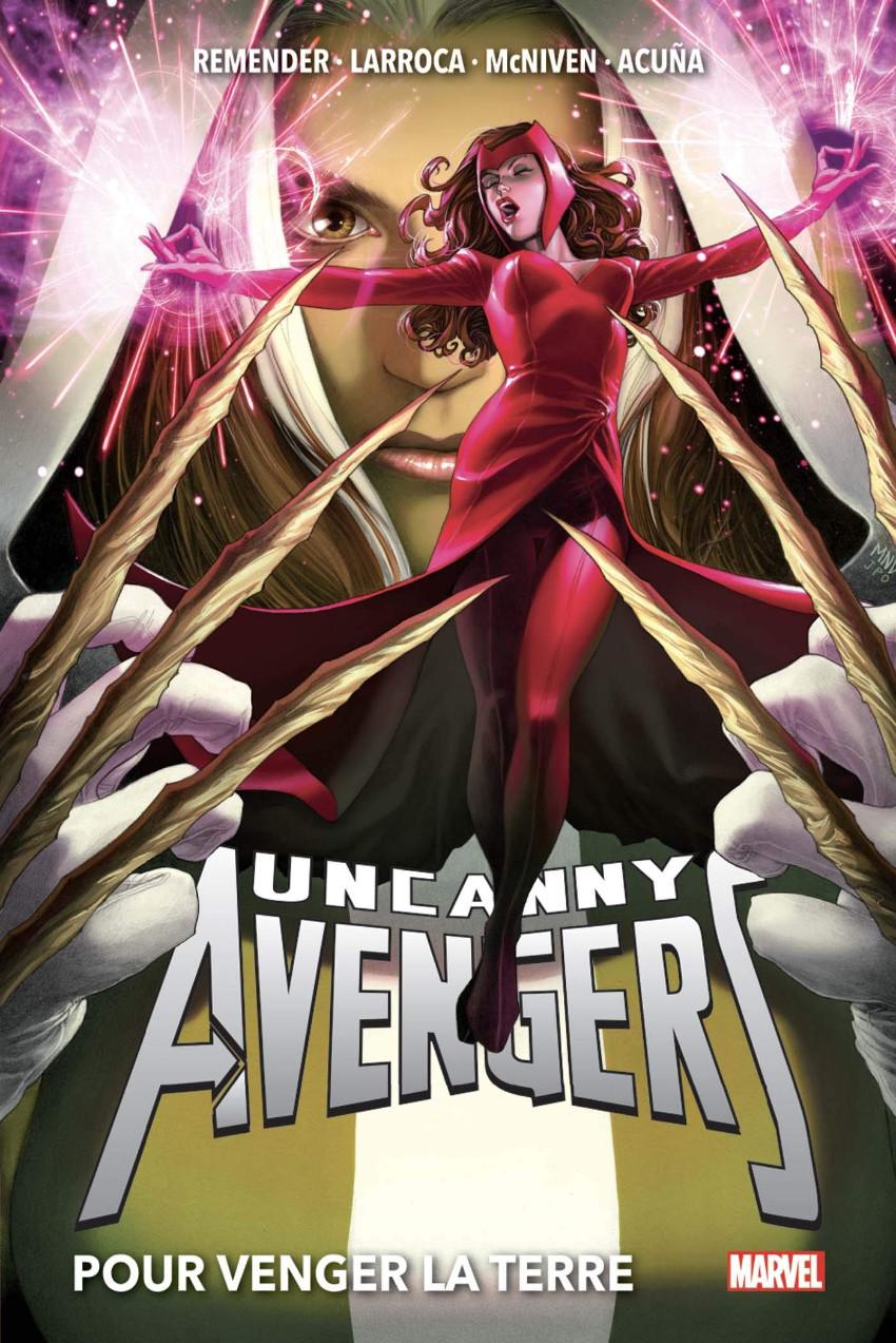 Couverture de Uncanny Avengers (Marvel Now!) -INT02- Pour venger la Terre